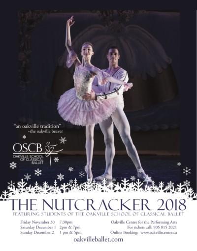 OSCB Nutcracker poster 2018